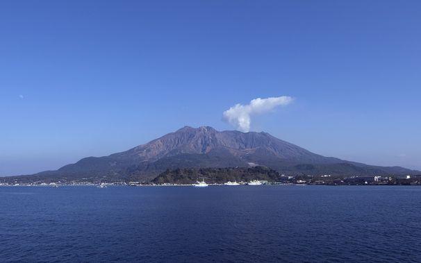 鹿児島のブログ。桜島の画像・仮
